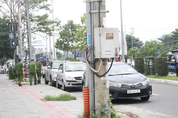 Phòng Cảnh sát Quản lý Hành chính về TTXH (Công An Thành Phố Đà Nẵng) tổ chức tuần tra và xử lý các phương tiện vi phạm