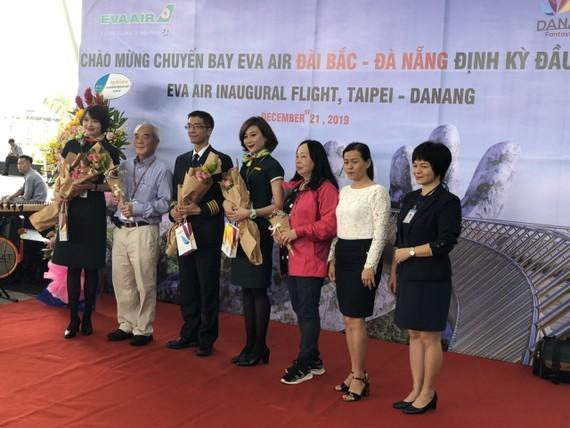 Chuyến bay AVA Air Đài Bắc- Đà Nẵng định kỳ đầu tiên