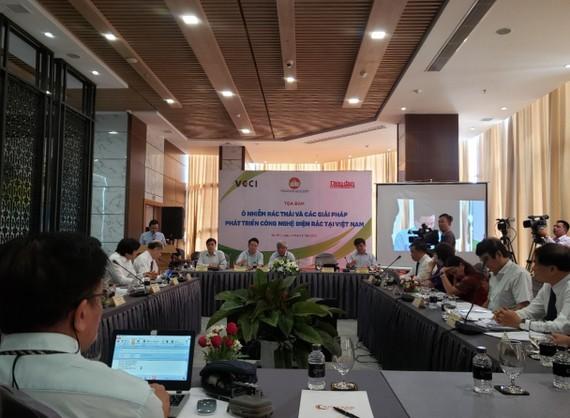 Tọa đàm ô nhiễm rác thải và giải pháp phát triển công nghệ điện rác tại Việt Nam
