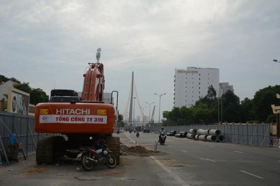 Thi công dự án Cải tạo cụm nút giao thông phía Tây cầu Trần Thị Lý