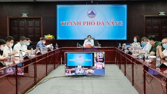 Phó Chủ tịch UBND TP Đà Nẵng chủ trì buổi giao ban trực tuyến về công tác phòng chống, dịch Covid-19