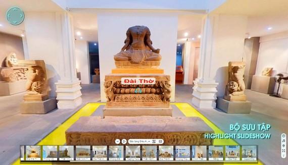 3 chế độ xem, góc nhìn 3D đa chiều xoay 360 độ tại 04 phòng trưng bày