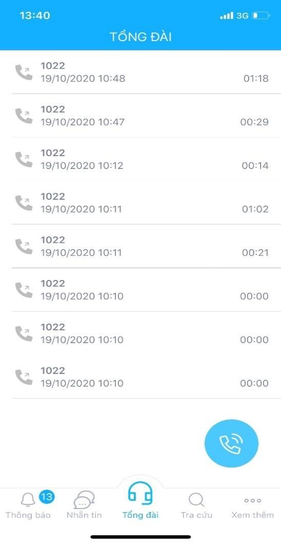 Liên hệ Tổng đài mà không tốn cước phí cuộc gọi