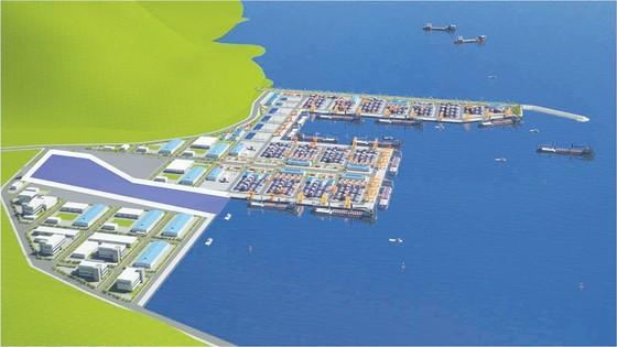 Mô hình xây dựng cảng Liên Chiểu, một trong những cảng biển lớn nhất miền Trung