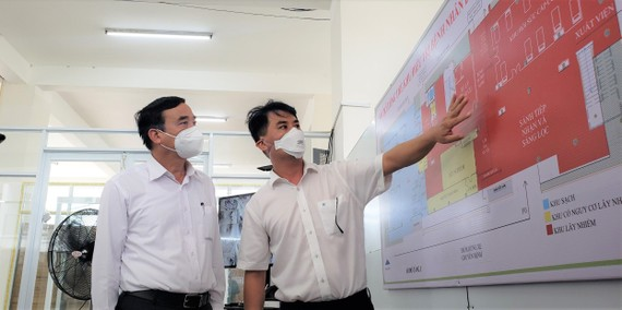 Bệnh viện dã chiến là cơ sở 2 của Bệnh viện Đà Nẵng