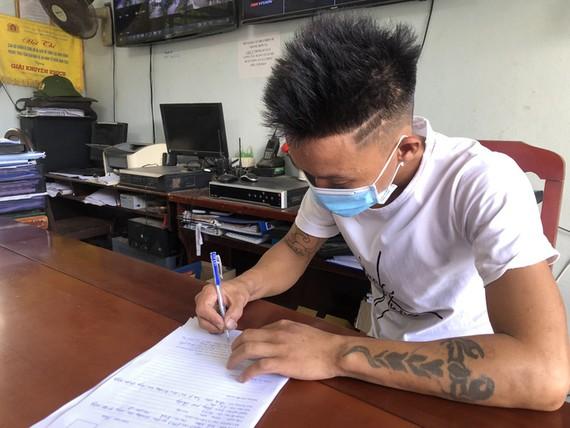 T.V.M. tại trụ sở Công an huyện Hòa Vang