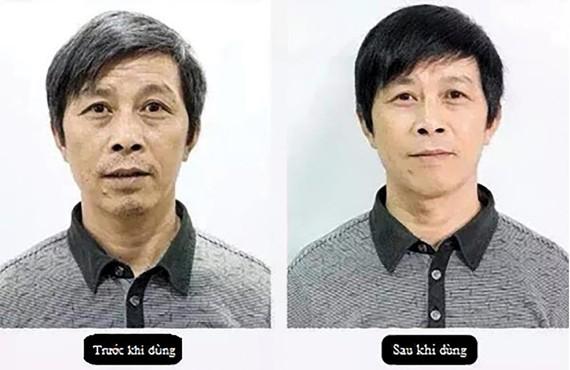 Trước và sau khi sử dụng
