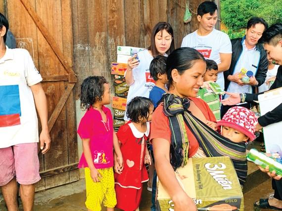 Quỹ Từ thiện tấm lòng nhân ái Phú Mỹ Kỳ hỗ trợ người nghèo tại tỉnh Lâm Đồng