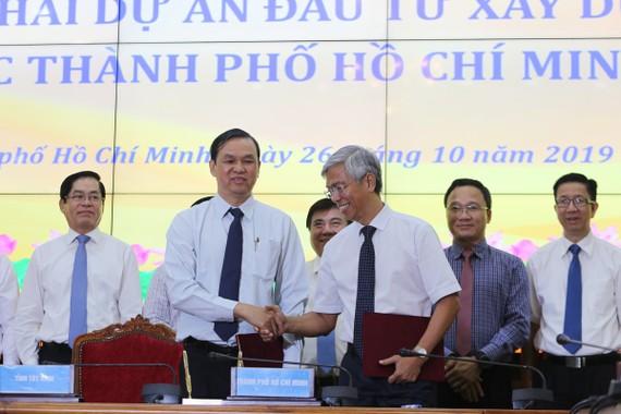 TPHCM và tỉnh Tây Ninh ký kết thực hiện cao tốc TPHCM - Mộc Bài