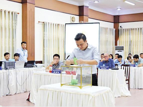 Công ty CP Đầu tư kinh doanh bất động sản Hà An vượt 5 doanh nghiệp khác, trúng gói thầu mảnh đất vàng 92ha gầnsân bay Long Thành. Ảnh:TRỌNG TÍN