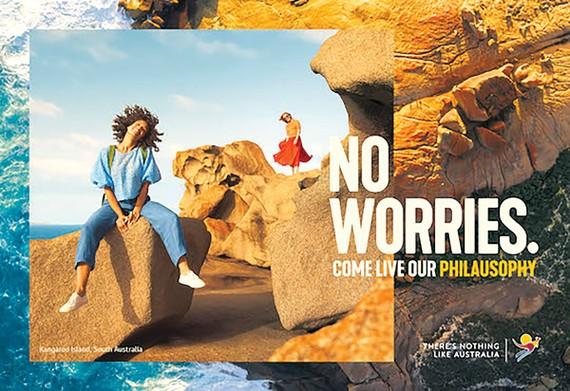 Hình ảnh quảng cáo chiến dịch du lịch mới của Australia