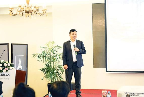 Hòa Bình chia sẻ về BIM tại hội thảo triển khai giải pháp BIM của Autodesk