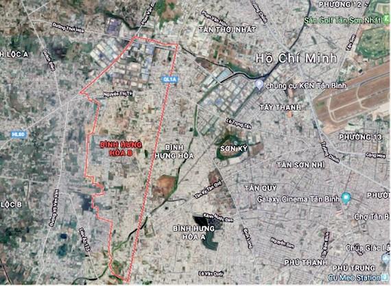 Duyệt quy hoạch 1/2000 Khu dân cư phía Tây Quốc lộ 1A hơn 437ha
