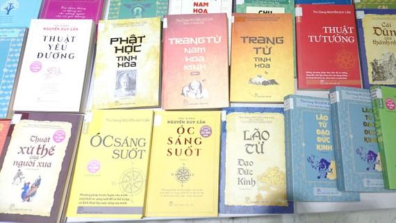Các tác phẩm của học giả Thu Giang Nguyễn Duy Cần  qua những lần in khác nhau