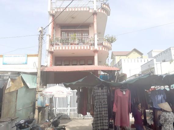 Căn nhà của bà Chi bị bán đấu giá để thi hành án