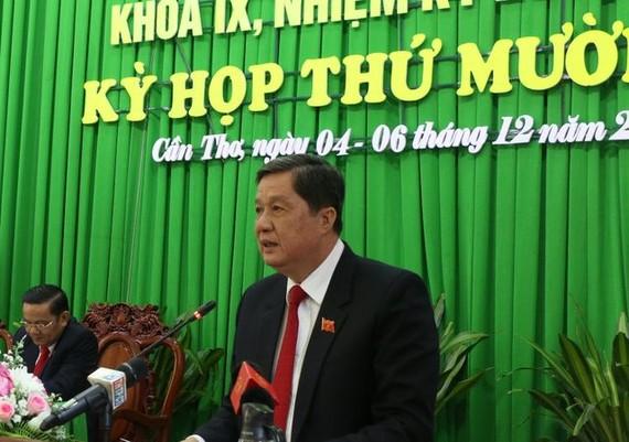 Ông Phạm Văn Hiểu, Chủ tịch HĐND TP Cần Thơ