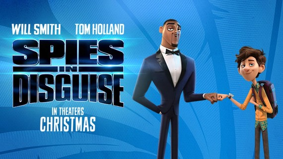 Poster phim hoạt hình Spies in Disguise