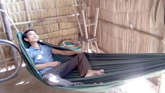 Anh Trương Văn Dọi đang bị bệnh hiểm nghèo
