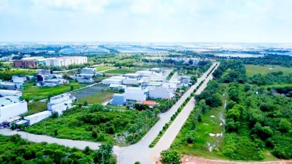 Một góc khu đất được TPHCM đề xuất quy hoạch KCN mới tại huyện Bình Chánh
