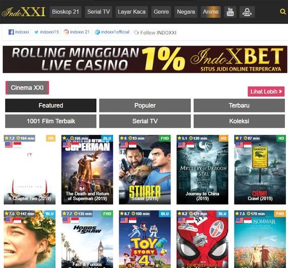Trang Indoxxi tuyên bố đóng kể từ ngày 1-1-2020