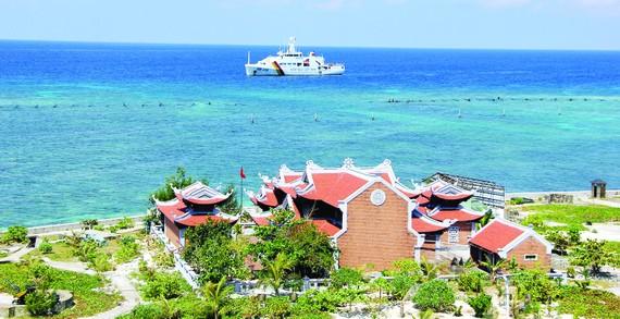 Một góc đảo Sơn Ca thuộc quần đảo Trường Sa của Việt Nam. Ảnh: HOÀI NAM