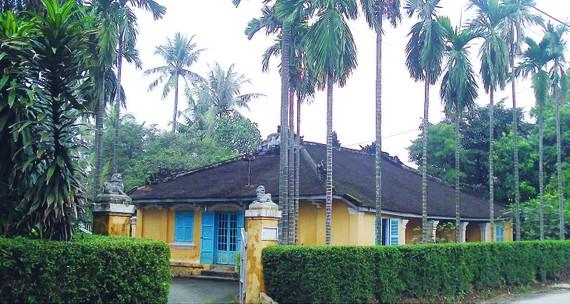 Nhà vườn của nhà nghiên cứu Phan Thuận An trên đường Nguyễn Chí Thanh, TP Huế