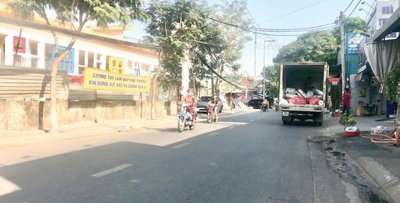 Đường Số 8 (khu phố 1, phường Linh Xuân) đã sạch rác