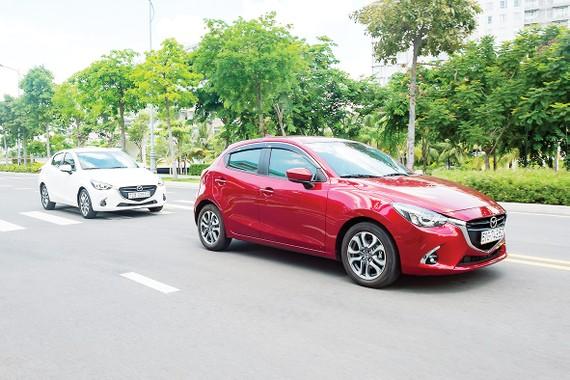 Mazda2 là mẫu xe duy nhất trong phân khúc sử dụng động cơ phun xăng trực tiếp Skyactiv-G