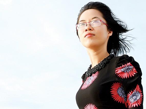 Nhà văn Nguyễn Thị Kim Hòa