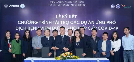 Tập đoàn Vingroup đã chính thức ký kết tài trợ cho 3 dự án