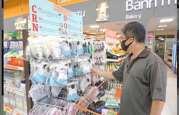 Khẩu trang vải kháng khuẩn tại hệ thống bán lẻ của Saigon Co.op