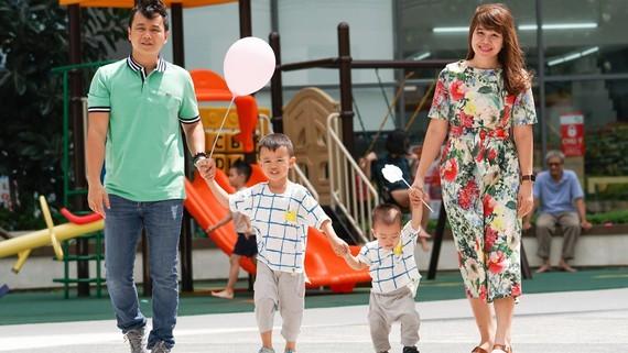 Gia đình hạnh phúc là hạt nhân bền vững của xã hội. Ảnh: HOÀNG HÙNG