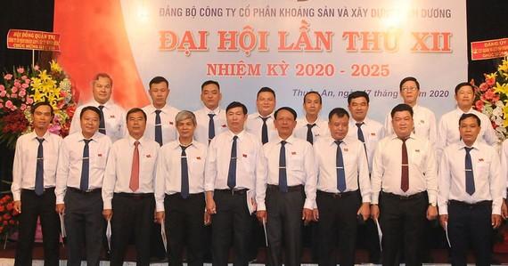 Đại hội Đảng bộ Tổng công ty Khoáng sản Bình Dương thành công tốt đẹp