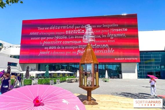 Trưng bày tác phẩm nghệ thuật tại La Seine Musicale