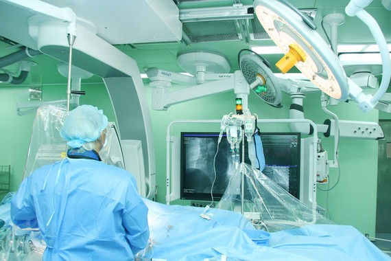 Phẫu thuật thành công người bị nhồi máu cơ tim cấp