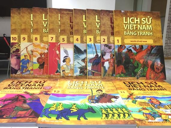 Bộ sách Lịch sử Việt Nam bằng tranh do NXB Trẻ thực hiện, đã tái hiện toàn bộ chiều dài của lịch sử dân tộc