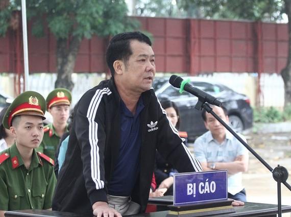Bị cáo Nguyễn Văn Sướng tại tòa. Ảnh: PB
