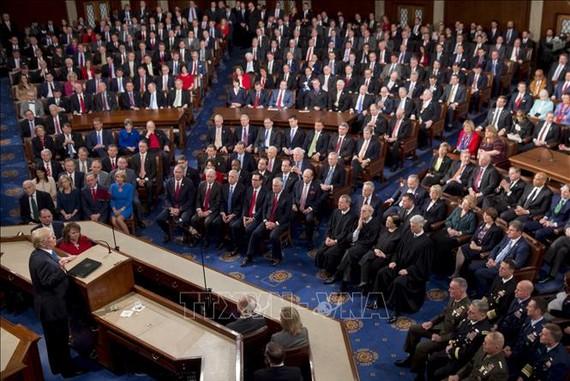Toàn cảnh một phiên họp tại Thượng viện Mỹ ở Washington DC. Ảnh tư liệu: AFP/TTXVN
