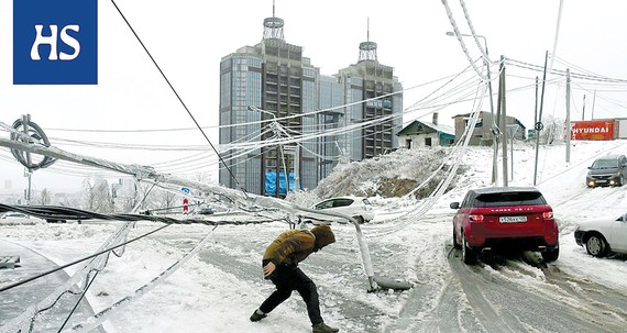 Mưa băng bất thường ở vùng Viễn Đông