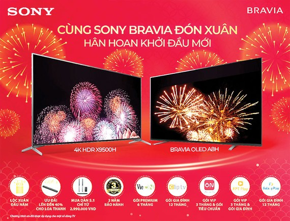 Cùng Sony đón xuân - Hân hoan khởi đầu mới
