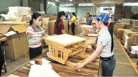 Xuất khẩu gỗ của Việt Nam. Ảnh: CAO THĂNG