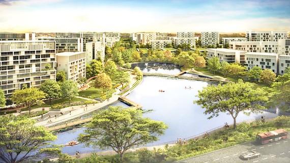 Mô hình một phần đô thị sinh thái thông minh Tengah