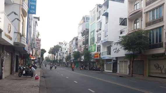 Đường Võ Văn Tần, quận 3, TPHCM thông thoáng, sạch đẹp hơn nhờ hệ thống điện và cáp đều được ngầm hóa
