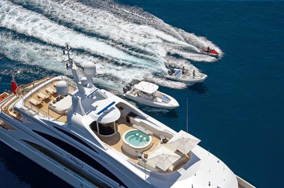 Du thuyền mang tới sự riêng tư và an toàn cho chủ nhân. Nguồn: Super Sail Yachts