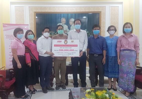 Tổng Lãnh sự quán Thái Lan và các doanh nghiệp Thái Lan đang làm ăn, sinh sống tại TPHCM muốn được chia sẻ, đóng góp một phần vật lực, tài lực hỗ trợ các lực lượng tham gia phòng, chống dịch Covid-19