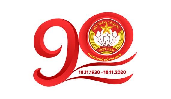 Biểu trưng 90 năm thành lập MTTQ Việt Nam