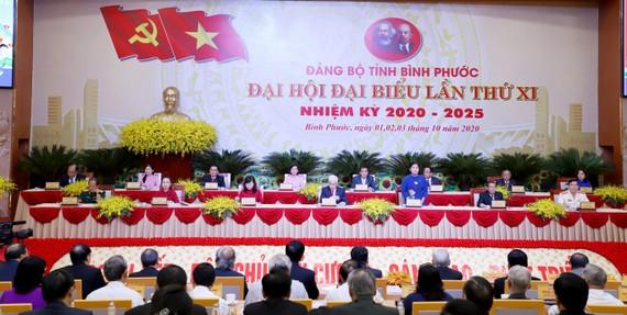 Khai mạc Đại hội đại biểu Đảng bộ tỉnh Bình Phước lần thứ XI.