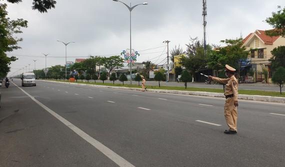 Đà Nẵng tăng cường kiểm soát phương tiện vào thành phố