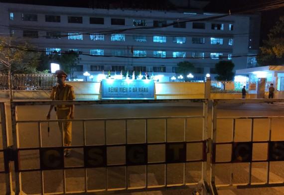 Dỡ bỏ phong tỏa Bệnh viện C Đà Nẵng từ 0 giờ ngày 8-8
