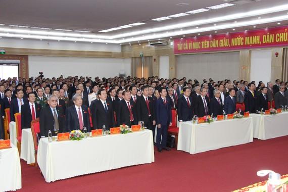 Lãnh đạo Trung ương và địa phương dự Đại hội đại biểu Đảng bộ tỉnh Quảng Trị